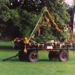 Erntedankwagen 1990