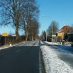 Ortseingang Kronsforde aus Richtung Bliestorf